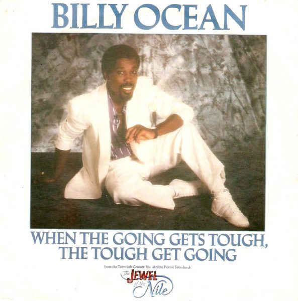 BILLY OCEAN When The Going Gets Tough Vinyl Record 7 Inch Jive 1986